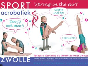 """Spring in the Air"" voor jonge acrobaten"