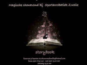 """Kwart eeuw Sportacrobatiek Zwolle: uitverkochte voorstelling """"Story book"""""""