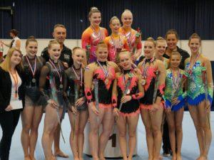 Kampioenen Sportacrobatiek Zwolle 2016-2017