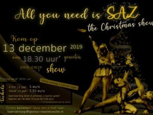 All you need is SAZ – The Christmas Show