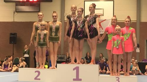 Podium Team Floor