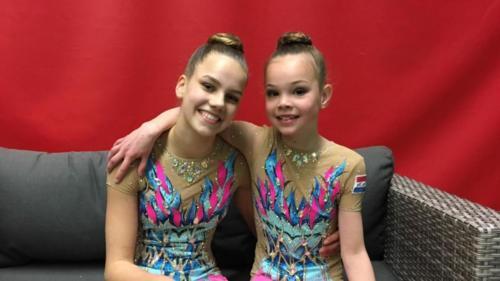 Meike en Roos